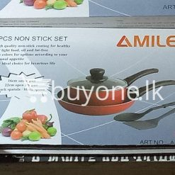 amilex 5pcs non stick set for healthy and light food home and kitchen special best offer buy one lk sri lanka 99504 247x247 - Amilex 5Pcs Non Stick Set For Healthy and Light Food