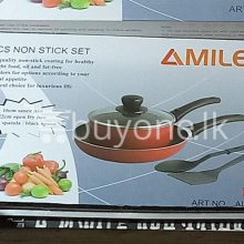 amilex 5pcs non stick set for healthy and light food home-and-kitchen special best offer buy one lk sri lanka 99505.jpg
