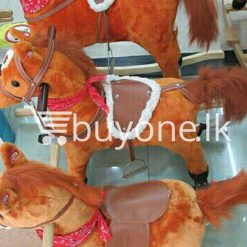 cute rocking horse for kids with music and cute voice output large baby care toys special best offer buy one lk sri lanka 15266 247x247 - Cute Rocking Horse for Kids with Music and Cute Voice output Large