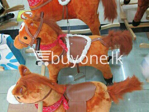 cute rocking horse for kids with music and cute voice output large baby-care-toys special best offer buy one lk sri lanka 15266.jpg