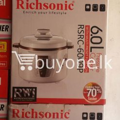 richsonic enrich your lifestyle 6 litre pressure cooker with multi preset function home and kitchen special best offer buy one lk sri lanka 99423 247x247 - Richsonic Enrich your lifestyle 6 Litre Pressure Cooker with Multi Preset Function