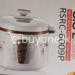 richsonic enrich your lifestyle 6 litre pressure cooker with multi preset function home and kitchen special best offer buy one lk sri lanka 99424 247x247 - Richsonic Enrich your lifestyle 6 Litre Pressure Cooker with Multi Preset Function