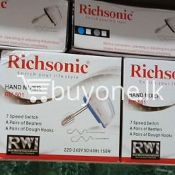 richsonic enrich your lifestyle hand mixer with 7 speed switch rh 501 home and kitchen special best offer buy one lk sri lanka 99431 247x247 - Richsonic Enrich your lifestyle Hand Mixer with 7 Speed Switch RH-501