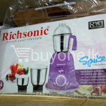 richsonic enrich your lifestyle spike mixer grinder with special shock proof abs body home-and-kitchen special best offer buy one lk sri lanka 99475.jpg