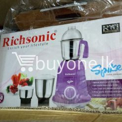 richsonic enrich your lifestyle spike mixer grinder with special shock proof abs body home and kitchen special best offer buy one lk sri lanka 99475 247x247 - Richsonic Enrich your lifestyle Spike Mixer Grinder with Special Shock Proof ABS Body