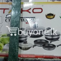 taiko non stick cookware 10pcs full set induction bottom healthy cooking home and kitchen special best offer buy one lk sri lanka 99440 247x247 - Taiko Non Stick Cookware 10pcs Full Set Induction Bottom Healthy Cooking