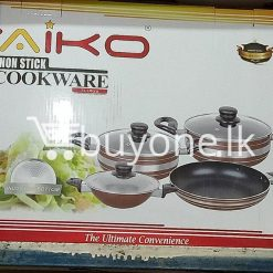 taiko non stick cookware 7pcs full set induction bottom healthy cooking home and kitchen special best offer buy one lk sri lanka 99435 247x247 - Taiko Non Stick Cookware 7pcs Full Set Induction Bottom Healthy Cooking