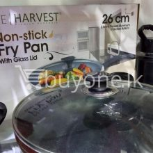 the harvest premium homeware-26cm non stick fry pan with glass lid home-and-kitchen special best offer buy one lk sri lanka 99595.jpg
