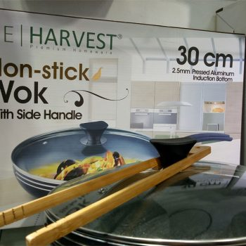 the harvest premium homeware-30cm non stick wok with side handle home-and-kitchen special best offer buy one lk sri lanka 99586.jpg