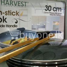 the harvest premium homeware-30cm non stick wok with side handle home-and-kitchen special best offer buy one lk sri lanka 99588.jpg