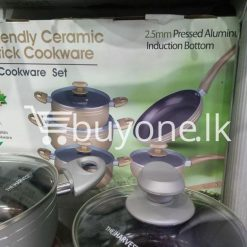 the harvest premium homeware eco friendly ceramic non stick 10pc cookware set home and kitchen special best offer buy one lk sri lanka 99568 247x247 - The Harvest Premium Homeware-Eco Friendly Ceramic Non-Stick 10pc Cookware Set
