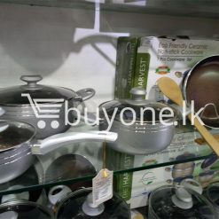 the harvest premium homeware eco friendly ceramic non stick 7pcs cookware set home and kitchen special best offer buy one lk sri lanka 99600 247x247 - The Harvest Premium Homeware-Eco Friendly Ceramic Non-Stick 7pcs Cookware Set