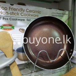 the harvest premium homeware eco friendly ceramic non stick 7pcs cookware set home and kitchen special best offer buy one lk sri lanka 99601 247x247 - The Harvest Premium Homeware-Eco Friendly Ceramic Non-Stick 7pcs Cookware Set