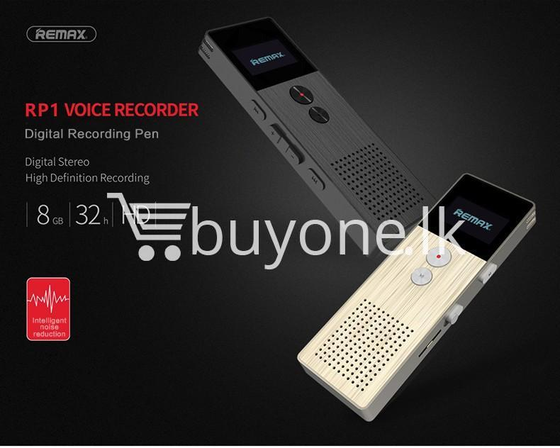 remax rp1 professional audio recorder business support telephone recording mobile store special best offer buy one lk sri lanka 07772 REMAX RP1 Professional Audio Recorder Business Support Telephone Recording