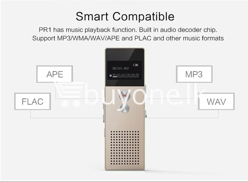 remax rp1 professional audio recorder business support telephone recording mobile store special best offer buy one lk sri lanka 07780 1 REMAX RP1 Professional Audio Recorder Business Support Telephone Recording