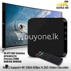 mxq 4k smart tv box kodi 15.2 preinstalled android 5.1 1g8g h.264h.265 10bit wifi lan hdmi dlna airplay miracast mobile phone accessories special best offer buy one lk sri lanka 50930 247x247 - MXQ 4K Smart TV Box KODI 15.2 Preinstalled Android 5.1 1G/8G H.264/H.265 10Bit WIFI LAN HDMI DLNA AirPlay Miracast