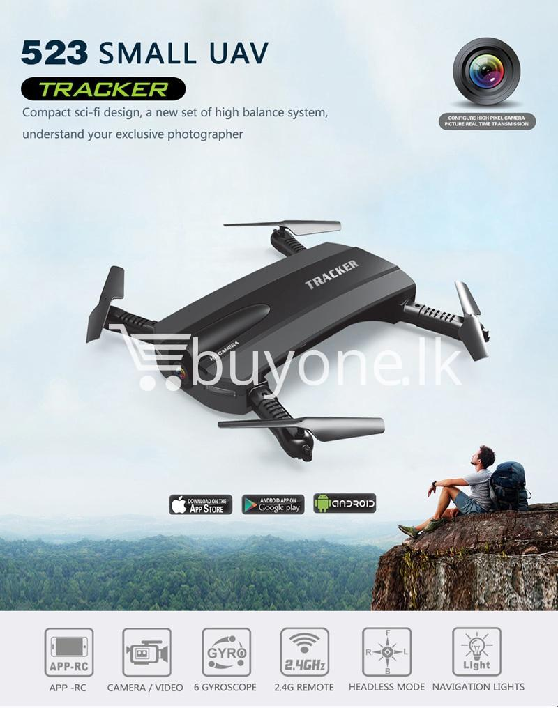 mini selfie tracker foldable pocket rc quadcopter drone altitude hold fpv with wifi camera mobile store special best offer buy one lk sri lanka 30757 Mini Selfie Tracker Foldable Pocket RC Quadcopter Drone Altitude Hold FPV with WIFI Camera