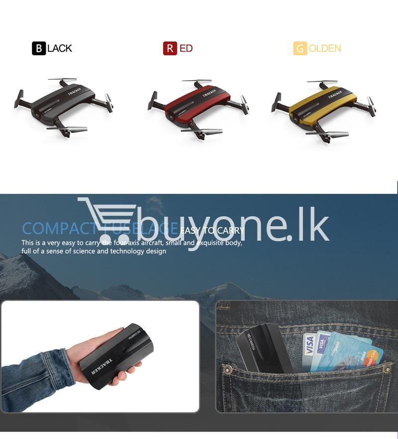 mini selfie tracker foldable pocket rc quadcopter drone altitude hold fpv with wifi camera mobile store special best offer buy one lk sri lanka 30758 - Mini Selfie Tracker Foldable Pocket RC Quadcopter Drone Altitude Hold FPV with WIFI Camera