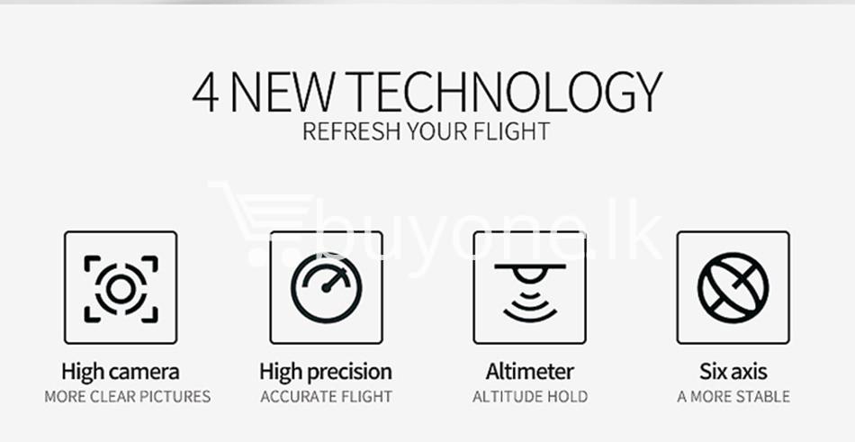 original jy018 advance pocket drone with hd wifi camera foldable g sensor mobile phone accessories special best offer buy one lk sri lanka 07588 - Original JY018 Advance Pocket Drone with HD WiFi Camera Foldable G-sensor