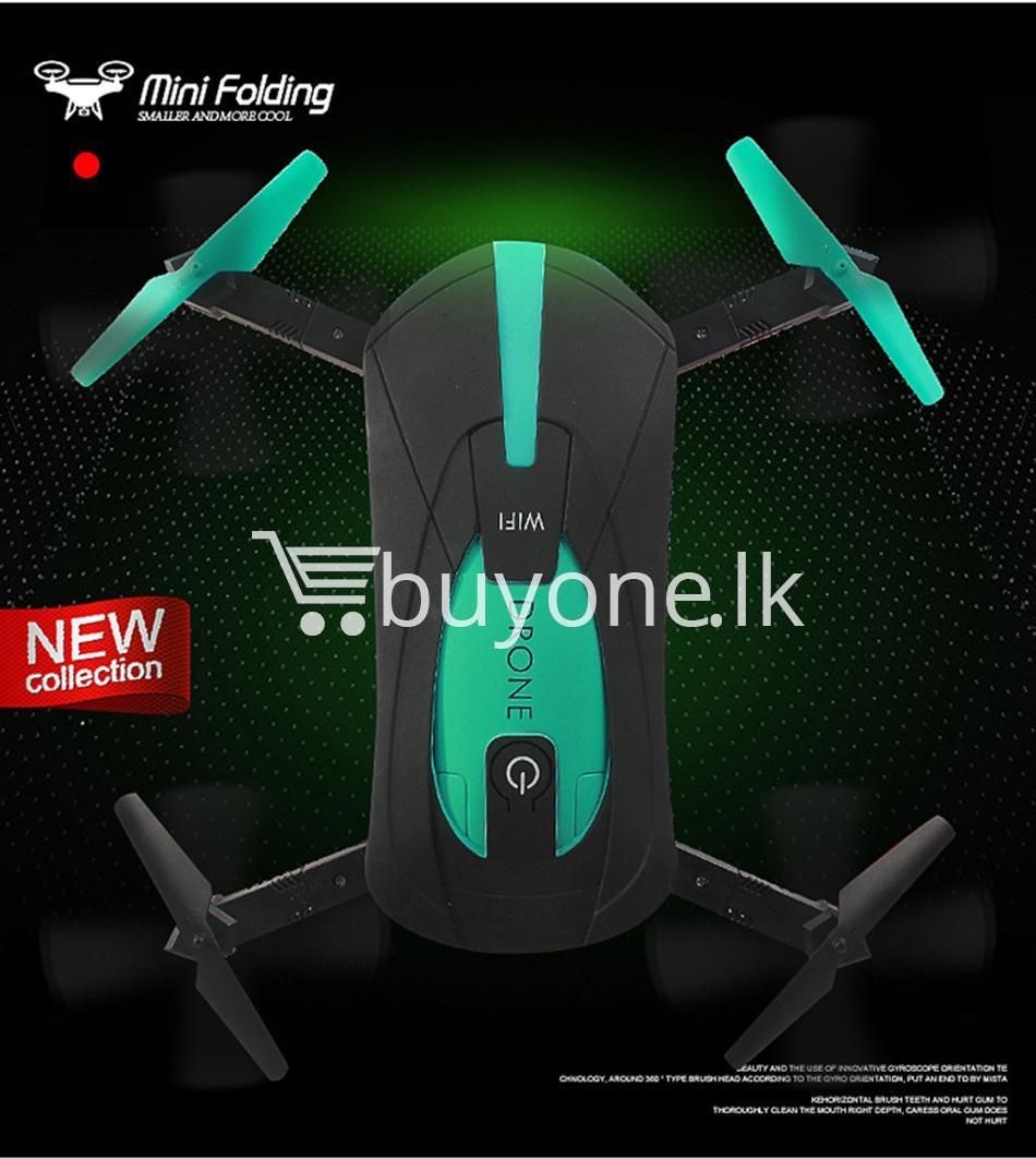original jy018 advance pocket drone with hd wifi camera foldable g sensor mobile phone accessories special best offer buy one lk sri lanka 07589 - Original JY018 Advance Pocket Drone with HD WiFi Camera Foldable G-sensor
