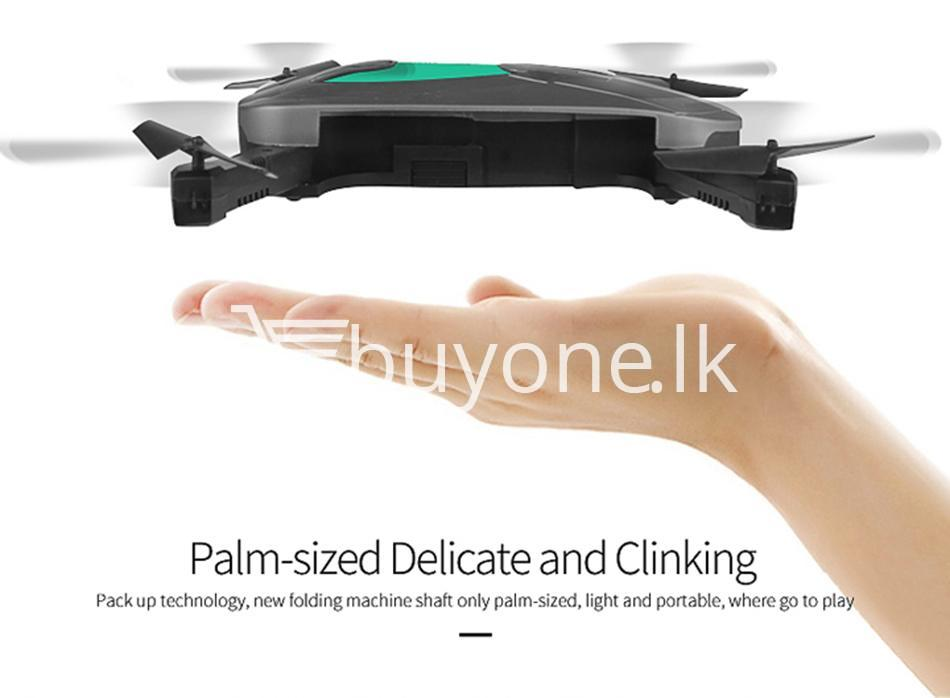 original jy018 advance pocket drone with hd wifi camera foldable g sensor mobile phone accessories special best offer buy one lk sri lanka 07598 - Original JY018 Advance Pocket Drone with HD WiFi Camera Foldable G-sensor