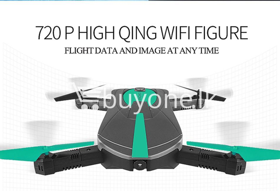 original jy018 advance pocket drone with hd wifi camera foldable g sensor mobile phone accessories special best offer buy one lk sri lanka 07600 - Original JY018 Advance Pocket Drone with HD WiFi Camera Foldable G-sensor