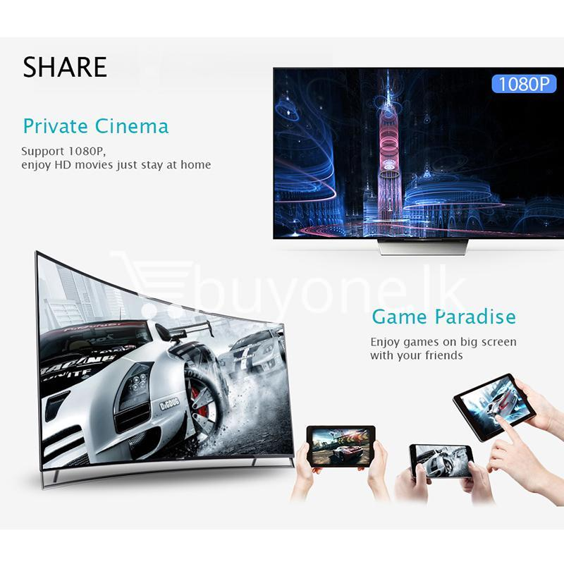 google chromecast digital hdmi media video streamer for ios android wireless display receiver mobile phone accessories special best offer buy one lk sri lanka 45836 - Google Chromecast Digital Like HDMI Media Video Streamer for IOS Android Wireless Display Receiver