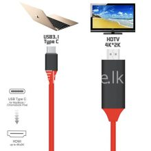usb type c to hdmi 4k hdtv cable limited edition connect any usb type c to your tvprojector mobile phone accessories special best offer buy one lk sri lanka 44712  Online Shopping Store in Sri lanka, Latest Mobile Accessories, Latest Electronic Items, Latest Home Kitchen Items in Sri lanka, Stereo Headset with Remote Controller, iPod Usb Charger, Micro USB to USB Cable, Original Phone Charger | Buyone.lk Homepage