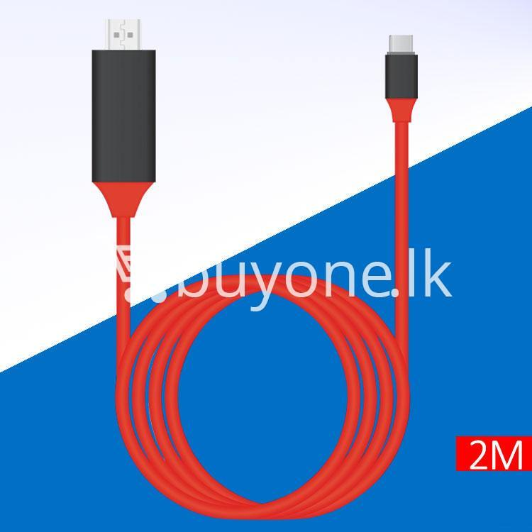 usb type c to hdmi 4k hdtv cable limited edition connect any usb type c to your tvprojector mobile phone accessories special best offer buy one lk sri lanka 44719 - USB Type C to HDMI 4k HDTV Cable Limited Edition Connect any USB Type C to your TV/Projector