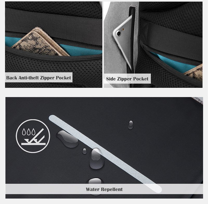 new multi function waterproof anti theft laptop backpacks with usb charging computer accessories special best offer buy one lk sri lanka 67210 - New Multi function Waterproof Anti theft Laptop Backpacks with USB Charging