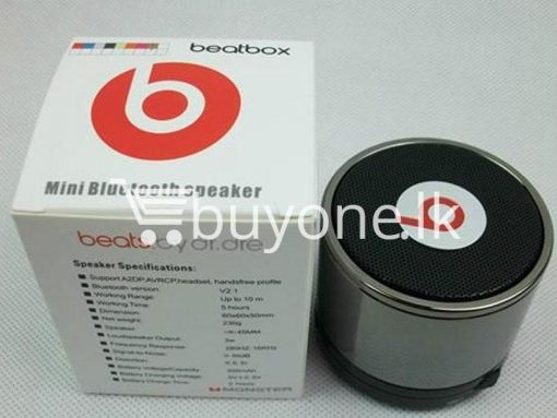 beatbox by dr dre mini bluetooth speakers with bass 5 buyone lk 510x383 - Beatbox - Mini Bluetooth Speakers with Base