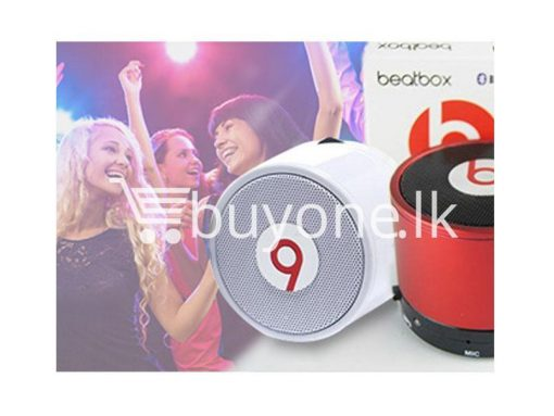 beatbox by dr dre mini bluetooth speakers with bass buyone lk 510x383 - Beatbox - Mini Bluetooth Speakers with Base