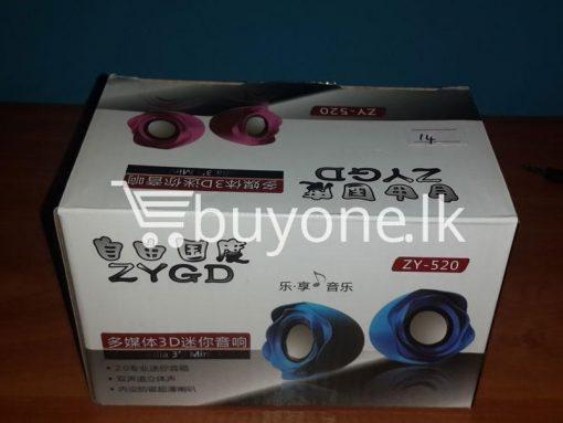 computer specker 6 buyone lk 510x383 - 3D Stylist Computer Speaker - USB Power