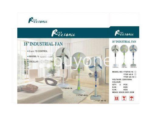 industrial pedestal stand fan buyone lk small 510x383 - Industrial Pedestial Stand Fan - 18 inch Brand New
