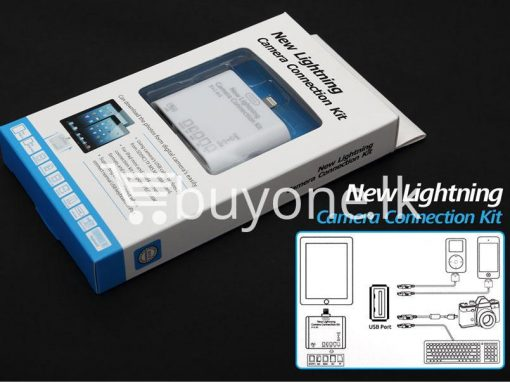 new lightning camera connection kit ipad4 ipad mini buyone lk 3 510x383 - 5 in 1 New Lightning Camera Connection Kit - iPad4, iPad Mini