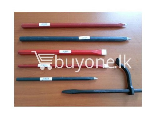 Cold Chisel hardware items from italy buyone lk sri lanka 510x383 - Cold Chisel 250mm W/Handle