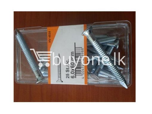 Screw Nail 25pcs hardware items from italy buyone lk sri lanka 510x383 - Screw Nail 25pcs