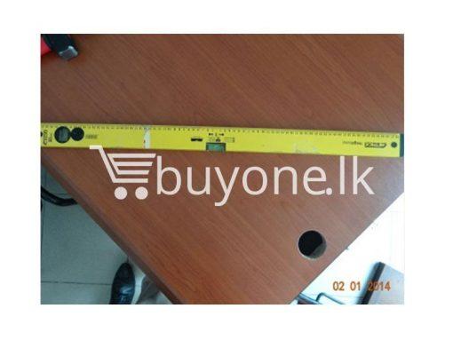 Spirit Level 60cm 80cm hardware items from italy buyone lk sri lanka 510x383 - Spirit Level 80cm(Yellow)