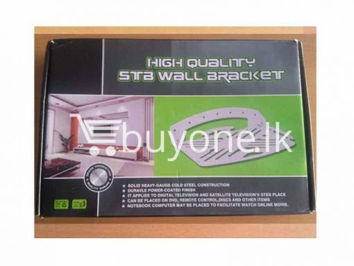 Dish TV DVD Player VCD Player High Quality STB Wall Bracket Holder home and kitchen Items brand new send gifts items buyone lk christmas sale offer in sri lanka 510x383 - Dish TV, DVD Player, VCD Player High Quality STB Wall Bracket + Holder