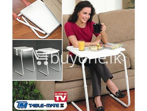 Multi Functional Table Mate II the ultimate portable table as Seen on TV buyone lk sri lanka 3 510x383 - Table Mate II -  Multi Functional, the ultimate portable table as Seen on TV