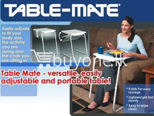 Multi Functional Table Mate II the ultimate portable table as Seen on TV buyone lk sri lanka 4 510x383 - Table Mate II -  Multi Functional, the ultimate portable table as Seen on TV