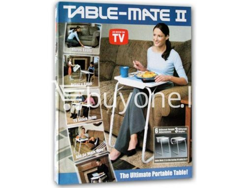 Multi Functional Table Mate II the ultimate portable table as Seen on TV buyone lk sri lanka 7 510x383 - Table Mate II -  Multi Functional, the ultimate portable table as Seen on TV