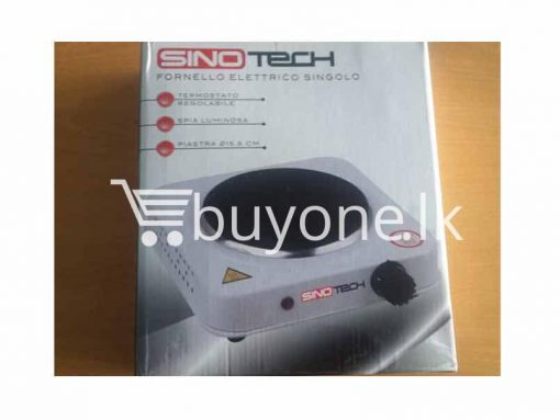 Sinotech Fornello Eletttrico Singolo home and kitchen Items brand new send gifts items buyone lk christmas sale offer in sri lanka 510x383 - Sinotech - Fornello Eletttrico Singolo