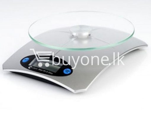 brand new 5kg electronic kitchen scale glass top lcd display buyone lk christmas sale offer in sri lanka 3 510x383 - Brand New 5Kg Electronic Kitchen Scale with Glass Top, LCD Display
