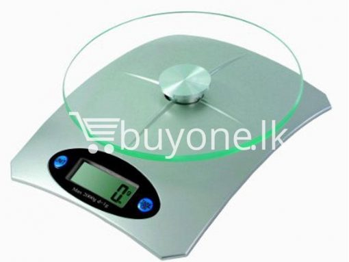brand new 5kg electronic kitchen scale glass top lcd display buyone lk christmas sale offer in sri lanka 5 510x383 - Brand New 5Kg Electronic Kitchen Scale with Glass Top, LCD Display