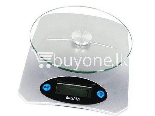brand new 5kg electronic kitchen scale glass top lcd display buyone lk christmas sale offer in sri lanka 7 510x383 - Brand New 5Kg Electronic Kitchen Scale with Glass Top, LCD Display