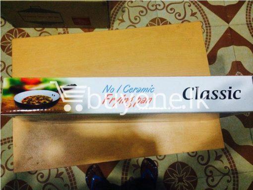 classic no 1 ceramic oil free frying pan 24 cm brand new buyone lk christmas sale offer in sri lanka 10 510x383 - Classic No 1 Ceramic Non Stick Oil Free Frying Pan 24 cm - Brand New