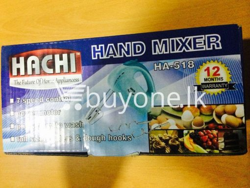 hachi hand mixer with warranty automates the repetitive tasks of stirring whisking or beating buyone lk christmas sale offer sri lanka 2 510x383 - Hachi Hand Mixer with warranty - automates the repetitive tasks of stirring, whisking or beating