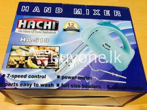hachi hand mixer with warranty automates the repetitive tasks of stirring whisking or beating buyone lk christmas sale offer sri lanka 3 510x383 - Hachi Hand Mixer with warranty - automates the repetitive tasks of stirring, whisking or beating