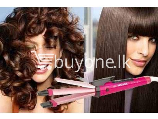 nova 2 in 1 hair beauty set for straight curl hair buyone lk christmas sale offer sri lanka 7 510x383 - Nova 2 in 1 Hair Beauty Set For Straight / Curl Hair with Warranty